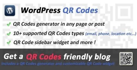 [WordPress] 5 plugins para generar y mostrar códigos QR en WordPress   Realidad Aumentada   Scoop.it