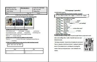 7th form mid term test 2 Mr Nabil - New Spotlight on English | New spotlight on English | Scoop.it