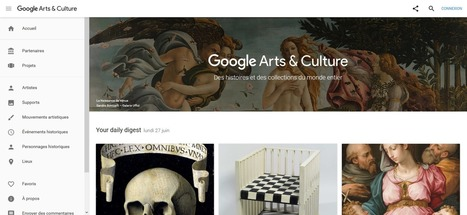 Google Arts & Culture (ex-Google Art Project): les plus grandes institutions françaises et mondiales contributrices en reproductions d'oeuvres (28/06/2016) | Clic France | Scoop.it