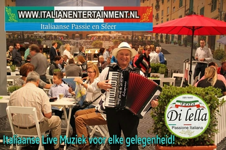 Italiaanse Live Muziek voor elke gelegenheid! | Italian Entertainment And More | Scoop.it
