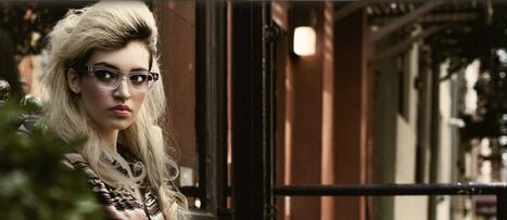 Geek Glasses for Women - Retro Eyewear from Vint & York | Vint and York Glasses | Scoop.it
