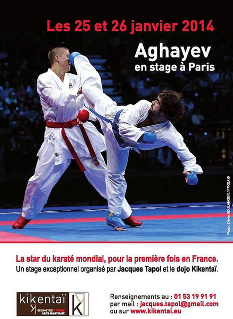 Rafael Aghayev en stage en France | Karatebushido.com | Karate daily | Scoop.it