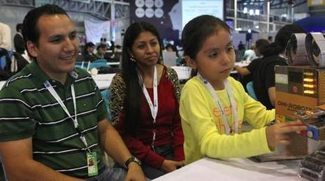 Emily, de 7 años, es la creadora de 'Dini-Robotin'   El Comercio   Robo-TIC-@ndo   Scoop.it