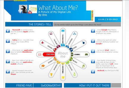 Un générateur d'infographie pour représenter votre empreinte sur les réseaux sociaux | e-marketing and design | Scoop.it