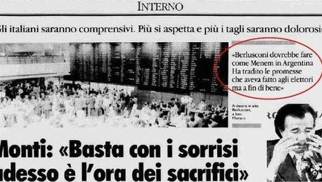 Monti: ho votato Berlusconi nel '94. Vero, e questa intervista dell ... - Blogo.it | Scelta Civica | Scoop.it
