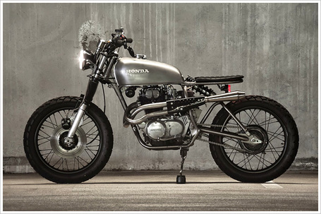 Honda CB360 – 'Doris' | Cafe Racers | Scoop.it