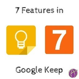 7 Features of Google Keep for You To Teach With :: Teacher Tech :: Alice Keeler   Technology Tools and Tips for Education   Scoop.it