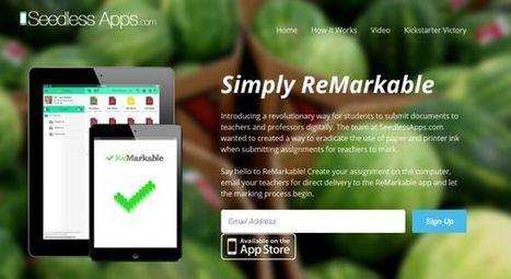 ReMarkable, herramienta de corrección de trabajos escolares para profesores [iOS] | Recull diari | Scoop.it