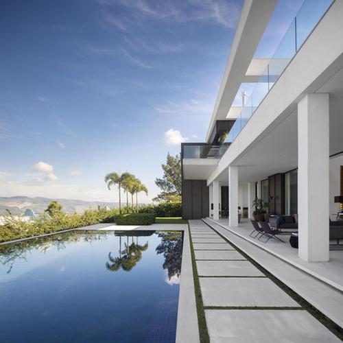 Magnifique maison contemporaine jaragua residence - Maison contemporaine exotique fernanda marques ...