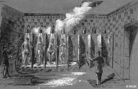 La douche, une invention d'un médecin de la prison de Rouen ! | Enseigner l'Histoire-Géographie | Scoop.it