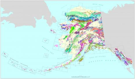 First ever digital geologic map of Alaska published | STEM Connections | Scoop.it