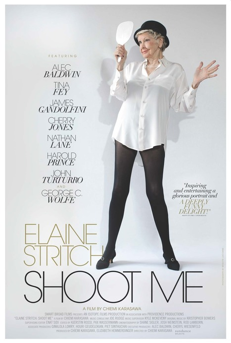 Official Poster Revealed for ELAINE STRITCH: SHOOT ME Doc, Set For Release 2/21 | #USArts | Scoop.it