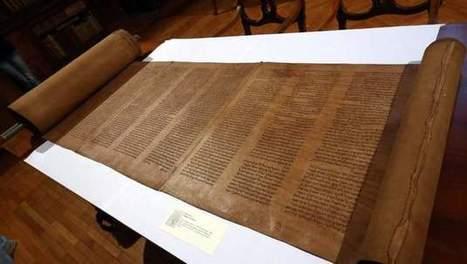 Oudste Hebreeuwse thorarol in Bologna ontdekt | KAP-ElhaddiouiA | Scoop.it