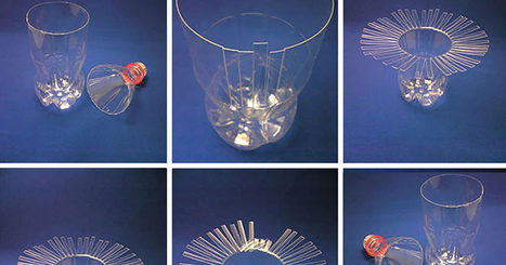 Some People Just Throw Plastic Bottles Away, Others Make This… | Integrating Art and Science | Scoop.it