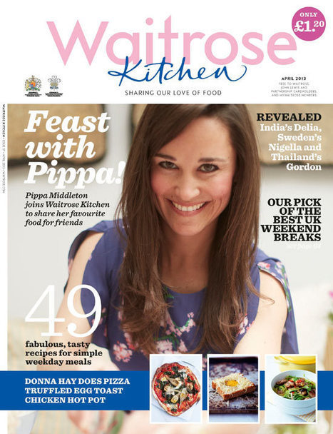 Pippa Middleton and Waitrose – a recipe for success? - The Guardian (blog) | Celebrity involvement in personal branding | Scoop.it