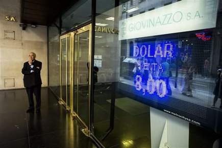 World stocks fall on emerging market woes | AP Goverment: Current Events | Scoop.it