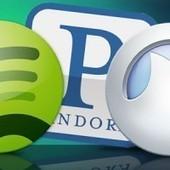 Spotify vs. Pandora vs. Grooveshark - Digital Trends   Streaming Music   Scoop.it