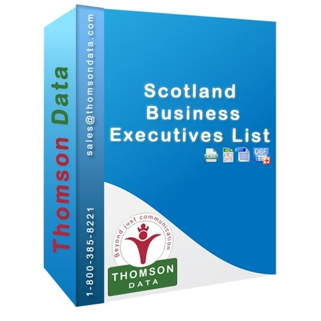 Grab the best Scotland Business Executives List with 10% off | Mailing List - Mailing List Database - Mailing List Provider | Scoop.it