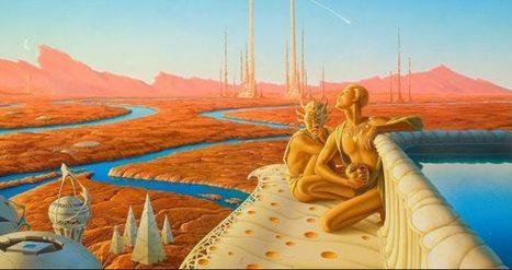Quando a imaginação desceu em Marte | Ficção científica literária | Scoop.it