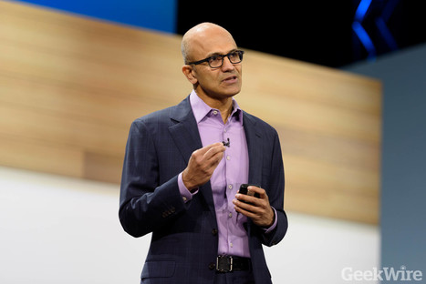 Microsoft CEO Satya Nadella touts Azure's advantages over market-leading Amazon Web Services | Future of Cloud Computing and IoT | Scoop.it