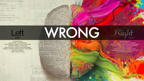 Here is real neuroscience on creativity: Not just the right brain | Social Media, Memetics, and Cognitve Science | Scoop.it