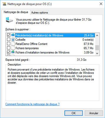 Astuce Windows 10 : récupérer de l'espace disque après installation | e-Marketing & stuff | Scoop.it