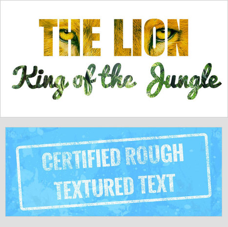 Texturize It: How to Create Textured Text Using CSS • 1stwebdesigner | CSS3 & HTML5 | Scoop.it
