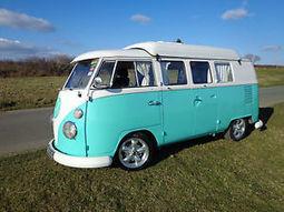 VW Split Screen Dormobile Camper 1966 11 Window RHD Long MOT & TAX Blue & White | Campervans News | Scoop.it