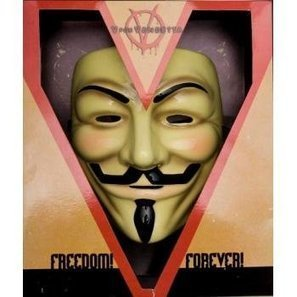 Halloween 2013 V For Vendetta Collector's Edition Mask Costume,One Size from Rubie's Costume Co Sales $ Deals | Halloween Costumes 2013 | Scoop.it