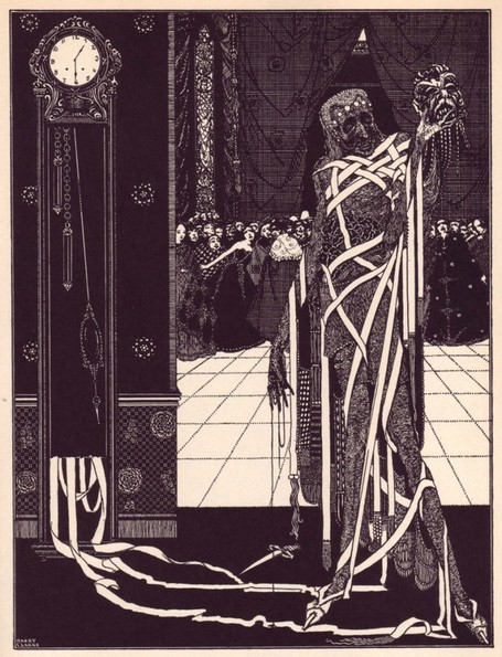 Harry Clarke's Illustrations For Edgar Allan Poe - Bank Holiday | Gothic Literature | Scoop.it