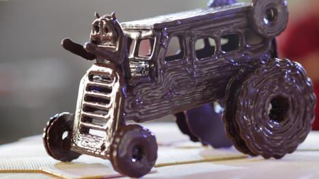 Kitkat réalise des sculptures en chocolat grâce à une imprimante 3D | Marketing Stories | Stratégies et actions marketing à l'international | Scoop.it