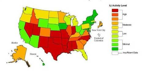 Flu worsens across U.S., hitting younger adults hard | Virology News | Scoop.it