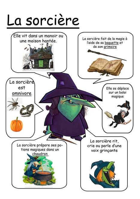 La sorcière.jpg | FLE enfants | Scoop.it