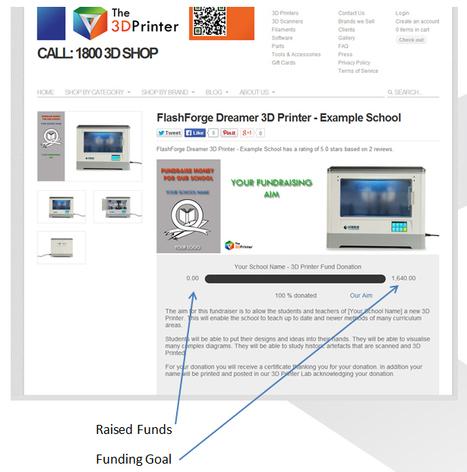 Schools Fundraising | 3D Printing in Education | Scoop.it