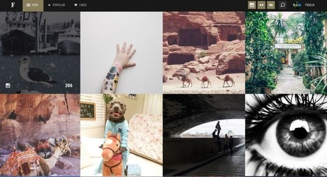 Folj. Centraliser les photos de Flickr, Instagram et 500px | Les outils du Web 2.0 | Scoop.it