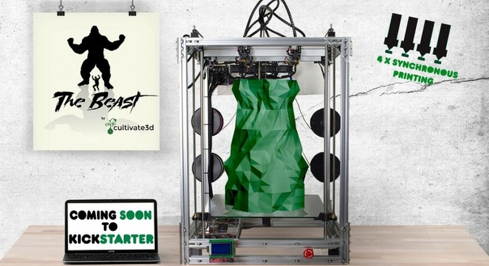 The Beast – 'A 3D Printer So Large it Could Print a Child' Unveiled by cultivate3D - 3DPrint.com | Machinimania | Scoop.it