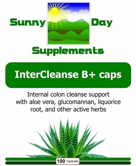 InterCleanse B+ caps | Sunny Day Herbal Supplements, Buy Now & Jesus Saves | Scoop.it