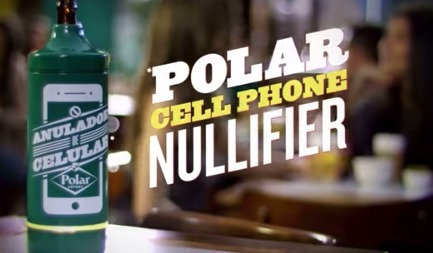 Polar Beer: The Cell Phone Nullifier|Digital Buzz Blog | campagne digital | Scoop.it