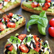 Caprese Avocado Toast | Nutrient Dense foods | Scoop.it