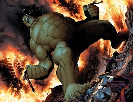 Le géant vert de Marvel tué d'une flèche : Hulk ne s'énervera plus | Bibliothèque et Techno | Scoop.it