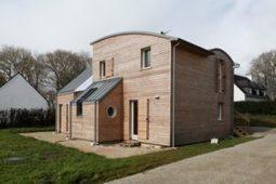 [A (re)lire] L'efficacité de la ouate de cellulose sur une maison neuve | architecture..., Maisons bois & bioclimatiques | Scoop.it