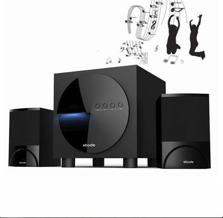 Test du système audio stéréo 2.1 sans Fil Bluetooth d'EBODE | accessoires-hifi | Scoop.it
