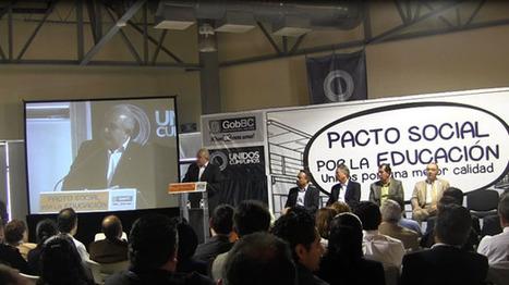 Crearán plataforma digital para escuelas, firman Pacto por la educación en BC  - Baja california - Noticias - UniradioInforma.com | Digitalizando la educación | Scoop.it