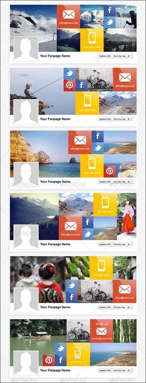 75+ Facebook Timeline Cover Templates | Designrazzi | Premium Themes Download | Scoop.it