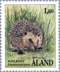 European Hedgehog – Michel AX 44 | Philately, Books & Comics | Scoop.it
