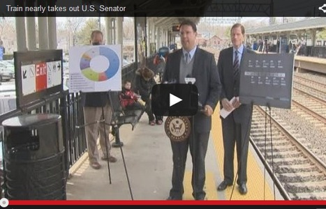Senator Nearly Hit by Train During a Train Safety Event | Social Networker | Scoop.it