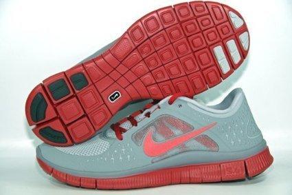 @@@   Nike Free Run+ 3 Laufschuhe wolf grey-gym red-stealth — 44,5   Sportschuhe Kaufen   Scoop.it