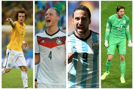 World Cup 2014: Brazil, Germany, Argentina or Netherlands? We preview this week's semi-finals and place our neck on the line by picking a tournament winner | Argentina in Mundial 2014 | Scoop.it