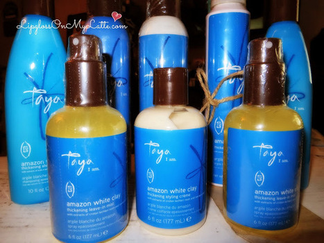 Taya Beauty Amazon White Clay Thickening Hair Products | Product Junkie | Scoop.it