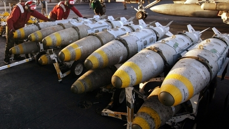 The US is dropping bombs quicker than it can make them | Sustainability Science | Scoop.it